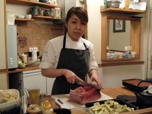 La chef Masayo Hashimoto